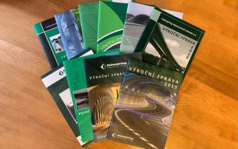 Grafické zpracování a tisk Výroční zprávy